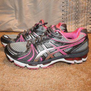 Asics Gel Kayano 18 Gray Pink Size 10